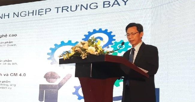 Ông Nguyễn Việt Dũng, Giám đốc Sở Khoa học và Công nghệ TP.HCM, phát biểu tại lễ bế mạc WHISE 2018