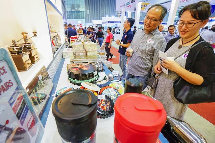 Triển lãm lần này đón nhận sự góp mặt của 150 mô hình nhượng quyền, 50  doanh nghiệp về thiết bị - công nghệ cửa hàng đến từ 14 quốc gia như  Việt Nam, Hàn Quốc, Malaysia, Singapore, Thái Lan,Nhật Bản, Canada, Ấn  Độ, Phillippines, Mỹ, Tây Ba Nha, Pháp...