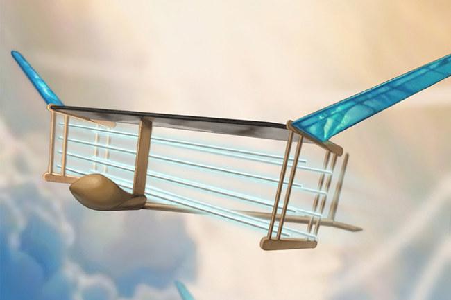Chiếc máy bay không sử dụng bất kỳ động cơ nào trong quá trình bay.