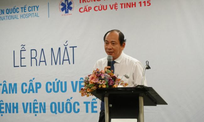 PGS.TS.BS Tăng Chí Thượng, Phó Giám đốc Sở Y tế TP.HCM cho biết, với  mạng lưới cấp cứu vệ tinh như hiện nay, người dân có niềm tin với khả  năng cấp cứu kịp thời tại khu vực TP.HCM.