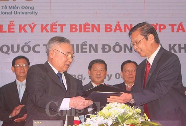 Đại học Quốc tế Miền Đông ký kết hợp tác với Khoa Y - ĐH Quốc gia TP. Hồ Chí Minh