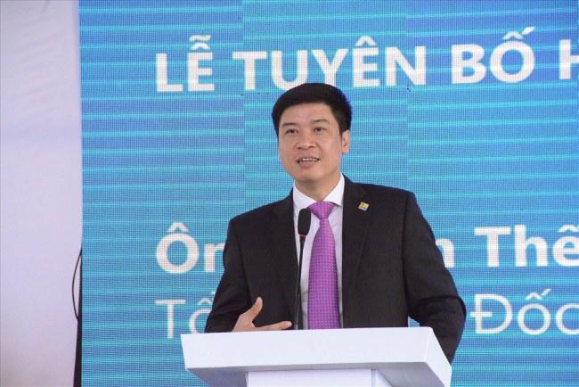 Ông Phạm Thế Trường - Tổng giám đốc Microsoft Việt Nam kỳ vọng vào lần hợp tác với doanh nghiệp Việt.