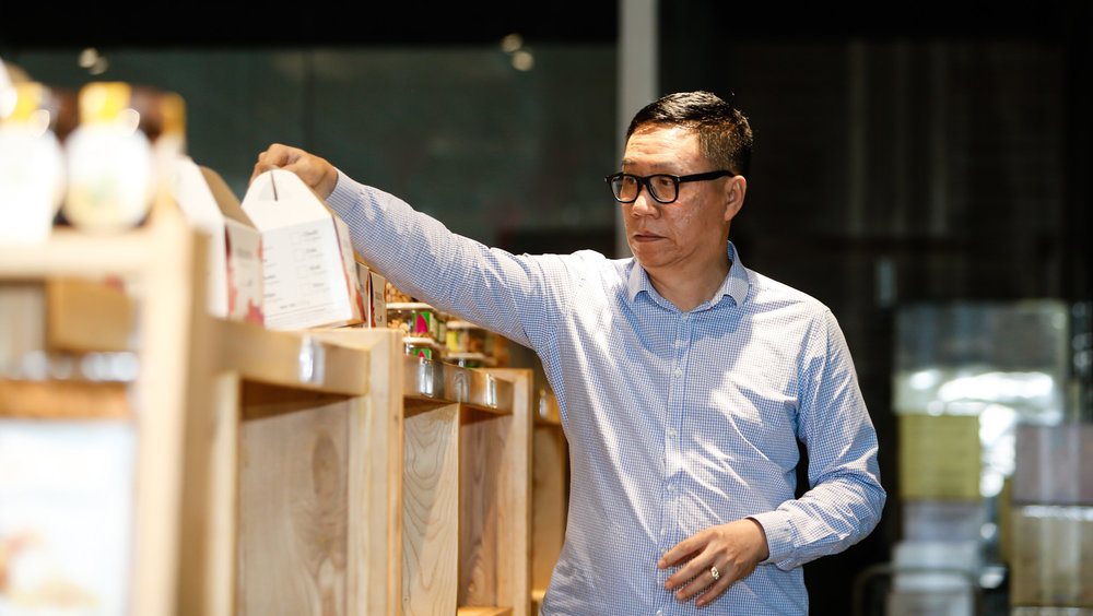 Chủ tịch Vinamit Nguyễn Lâm Viên