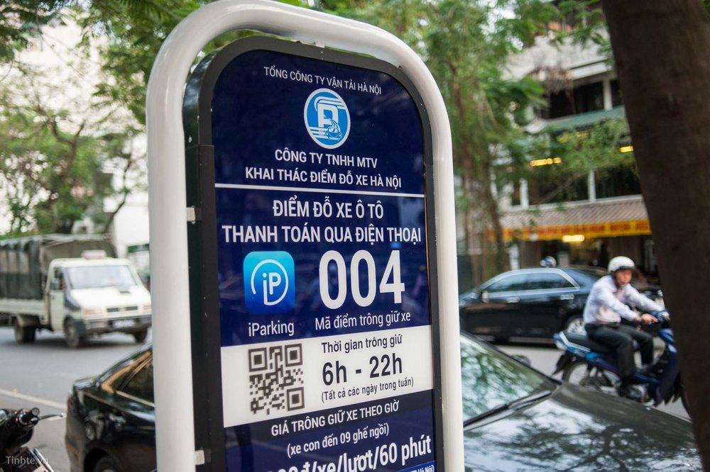 Quản lý đỗ xe iParking và My Parking -