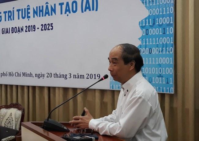 Theo GS.TSKH Hồ Tú Bảo, lực lượng nhân sự AI phổ thông cũng hết sức cần thiết