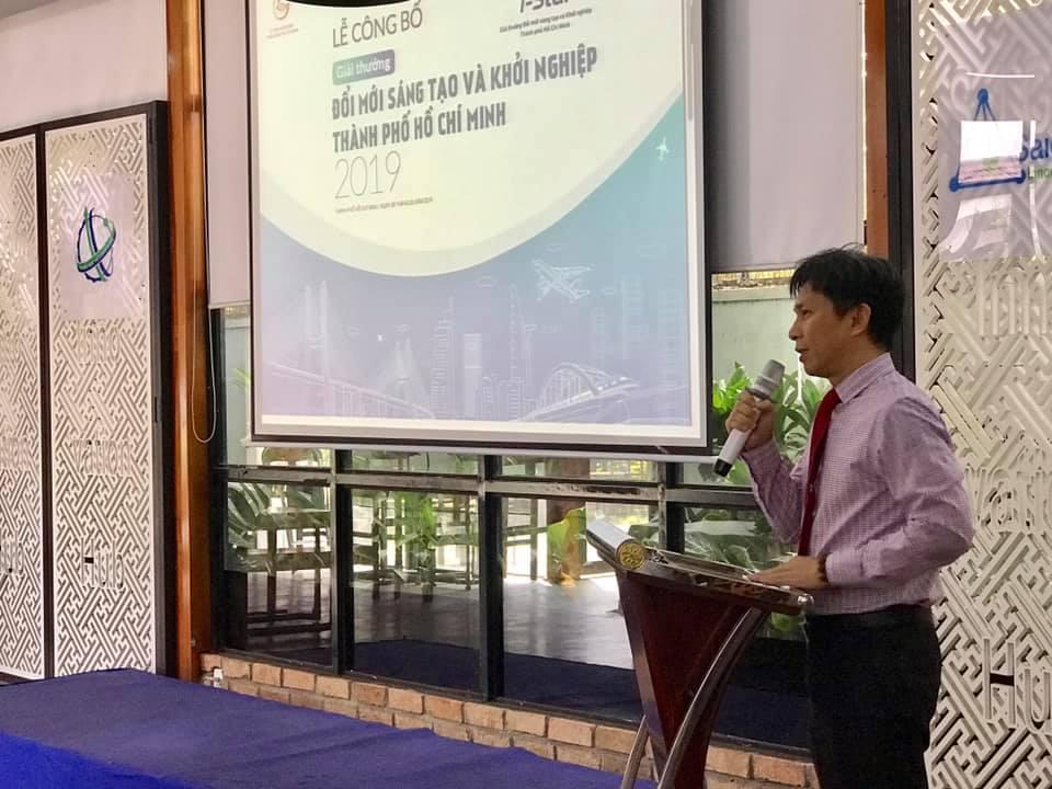 Ông Nguyễn Việt Dũng, giám đốc Sở Khoa học vàCông nghệ TP.HCM
