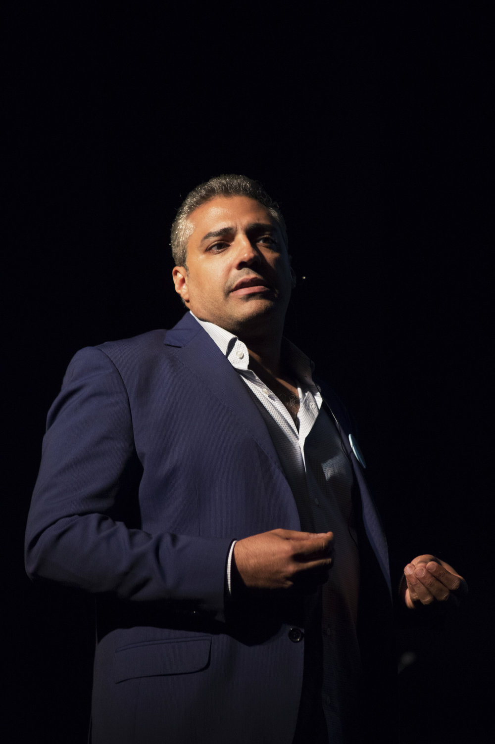 Journalist Mohammed Fahmy at a Lecture on Terrorism and Journalism in the Middle East (December 14 2016)