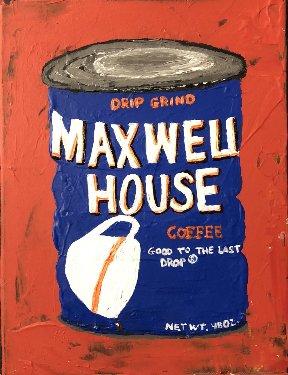 """CAFFINATED SERIES-MAXWELL HOUSE-DRIP GRIND-2017-11""""X 14'""""-$650"""