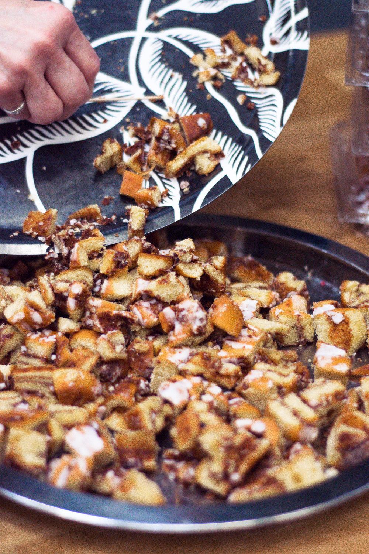 cinnamon buns in ikea
