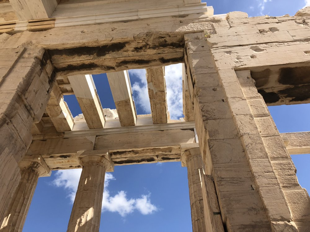 Destruction of the Ceiling of the Propylaea and Some Reconstruction