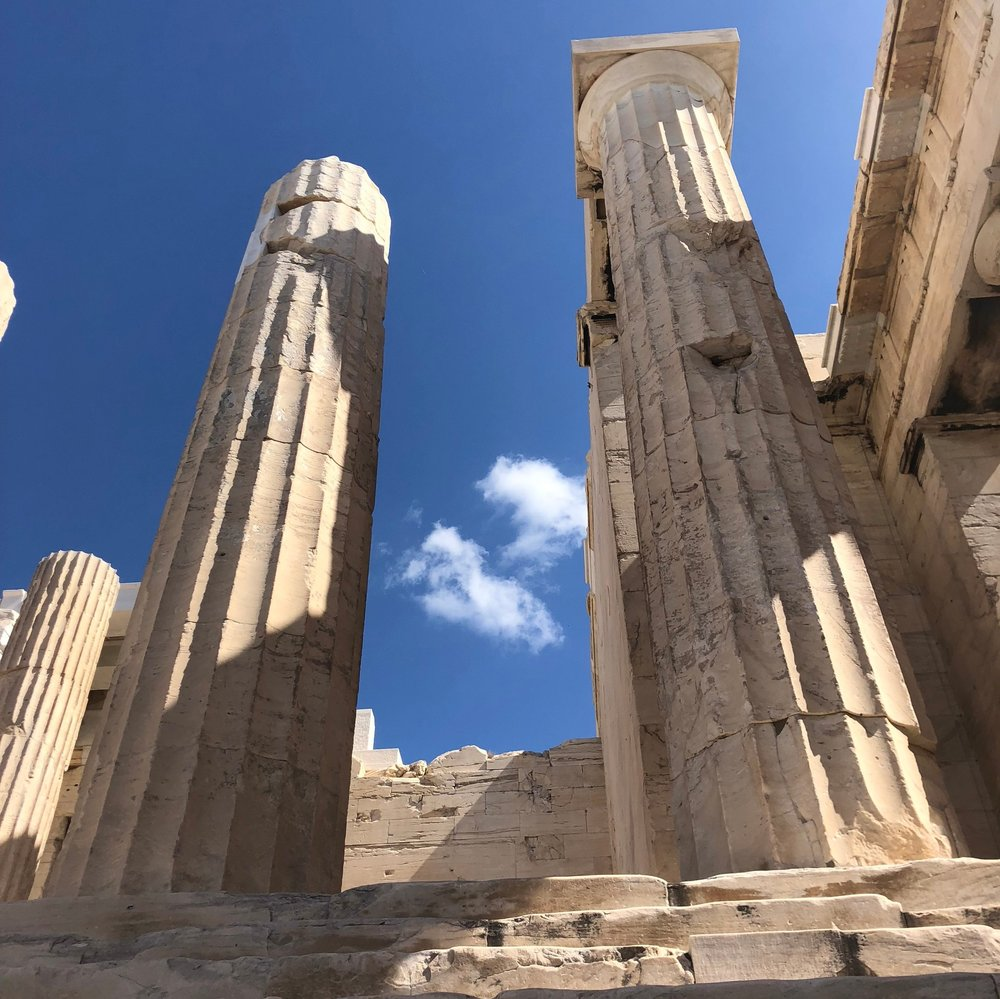 Columns of the Propylaea