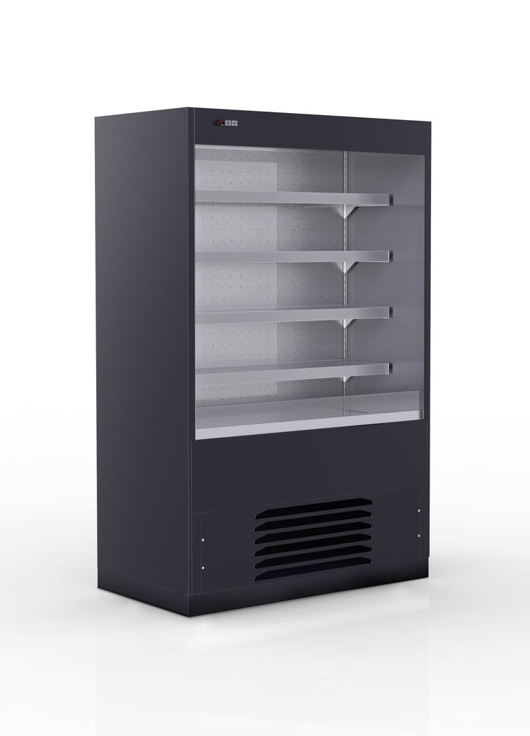 CIAM CLASSIC - CIAM CLASSIC 5 Shelf Reach in Cabinet640mmW x 675mmD x 2000mmHBlack Enameled Panels InstalledWeb special $6000.00 + GST (RRP $13700.00 + GST)~ Base of counter in plastic-coated steel~ Adjustable Stainless Steel feet~ Tank back panel and top are in Stainless Steel and heat insulated with ecological polyurethane foam~ Ventilated refrigeration with finned evaporator and thermostatic valve~ Qty x 01 fixed plate and Qty x 04  Stainless Steel adjustable shelves with lighting~ Night blind~ Double glass sides~ Digital control panel~ BUILT-IN COMPRESSOR