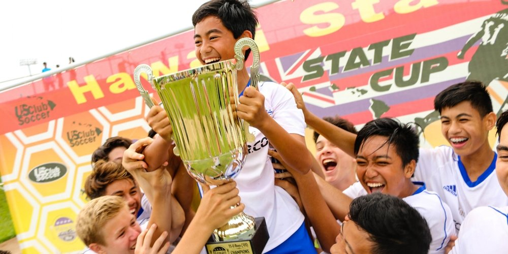 State Cup - Hawaiʻi's only state soccer competition that offers title winners direct berth to a national final—at no additional cost to players.