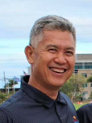 PCA Presenter, Kiha Pimental, is a three three-sport honors graduate from Kamehameha Schools—Kapālama; Standford football walk-on (who earned an athletic scholarship as a receiver); and high school football coach of over 25 years.  |  Source:  Positive Coaching Hawaii