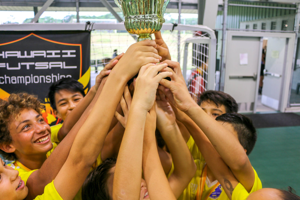 Tournament Application - The eighth annual Hawaii Futsal Championships will be held at the Pāhoa Community Recreation Center Gymnasium on Memorial Day Weekend. The tournament is OPEN to all U.S. Soccer affiliated teams (e.g., US Club Soccer, U.S. Futsal, HYSA); Hosted by Big Island Futsal.