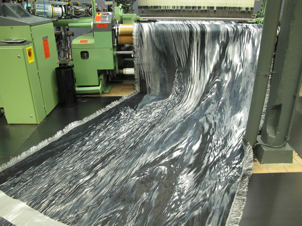 Grey Waters in the loom
