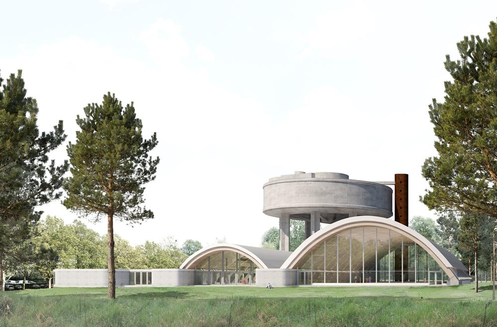 Ny Svømmehal ved Roskildebadet