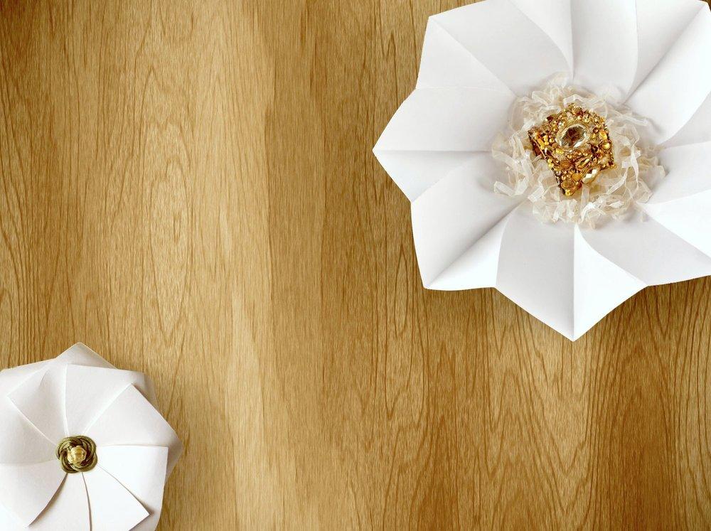 Jewelry Origami Geometric Box