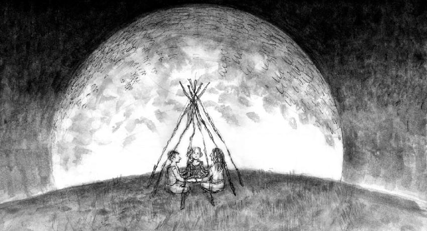 Final-scene-from-Lars-von-Trier-Melancholia-line-drawing-by-Jennifer-Tobias-2011.png