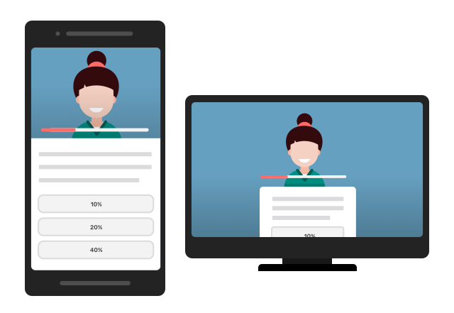 Microlearning across platforms