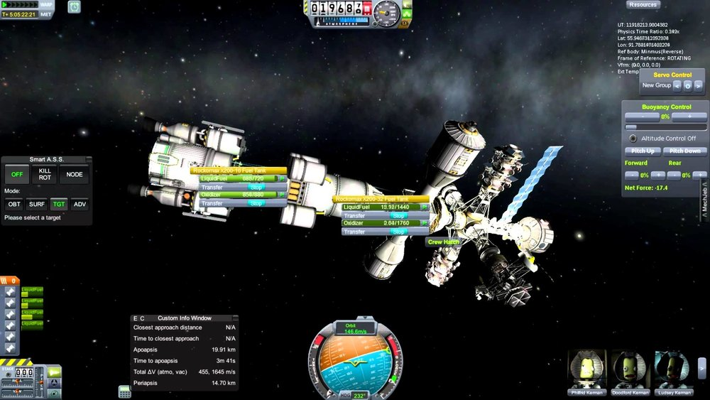 Image: A screenshot of Kerbal Space Program