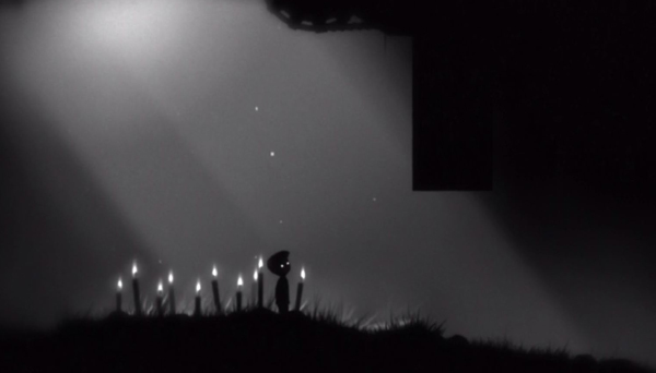 The secret ending to the game. There are 10 candles and each correspond to one the eggs in the game.