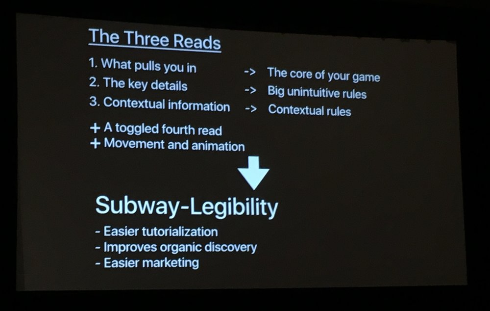 Zach Gage's talk summary on Building Games that can be Understood in a glance.