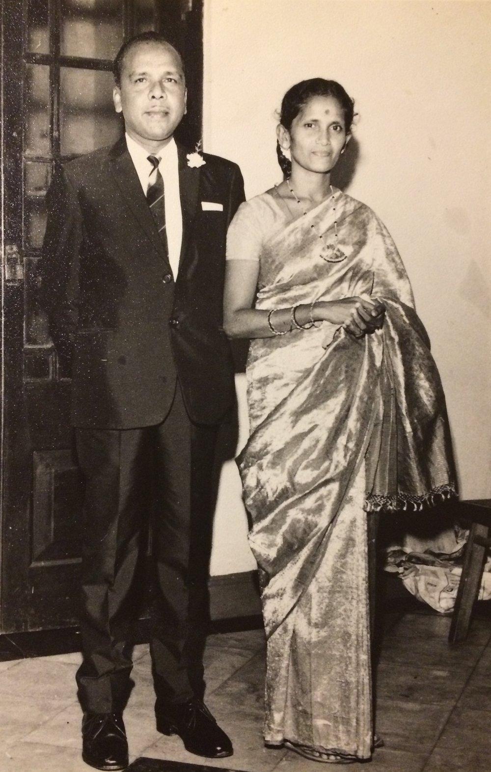 Mary and Thomas Daniel, 1950's