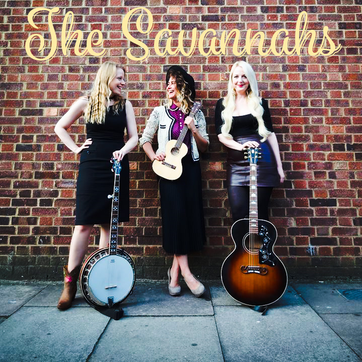 The Savannahs... - Founded in early 2017, singer-songwriters Hannah Rose Platt, Emily Moment, and Rebecca Rosewell formed Alt-Country band, The Savannahs. Inspired by acts like Emmylou Harris, Neil Young, Dolly Parton, Johnny Cash, Gillian Welch, and many more, The Savannahs lend their beautiful 4-part harmonies to a mix of both originals and rootsy covers. In June 2017, The Savannahs were featured on BBC One's Saturday night series 'Pitch Battle' which you can now check out on iplayer. To see what they are up to visit HERE!