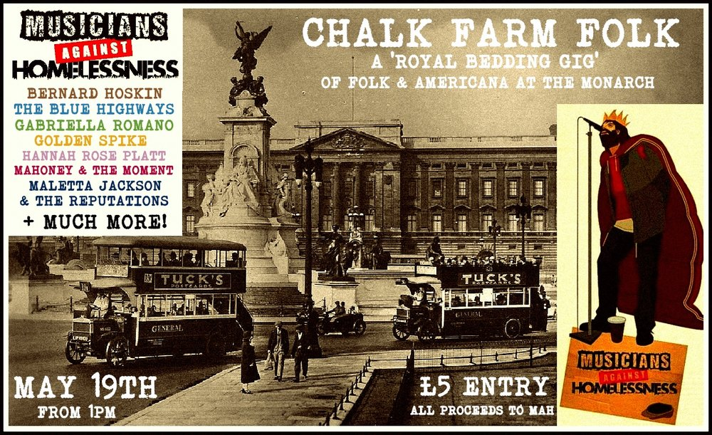 Chalk Farm Folk 19th May 2018