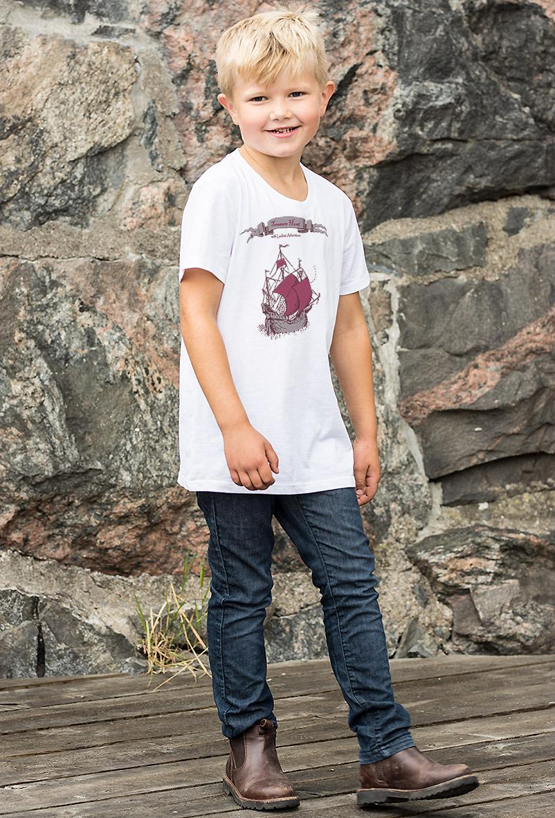Fin premium t-shirt för barn