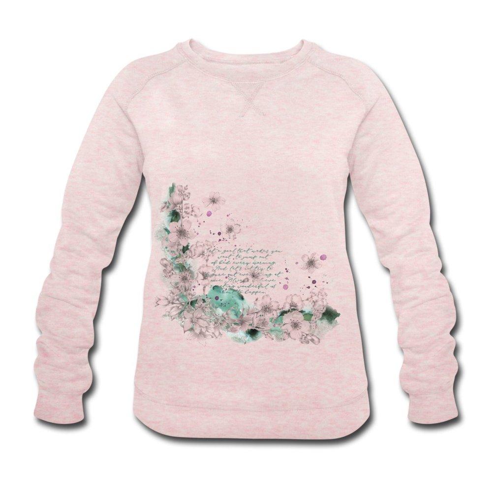 Sweatshirt i ekologisk bomull