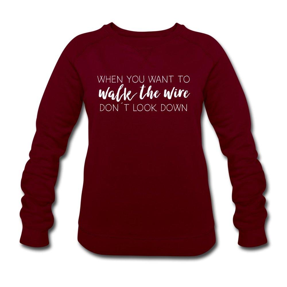 walk-the-wire-ekologisk-sweatshirt-dam-fraan-stanley-stella-wine.jpg
