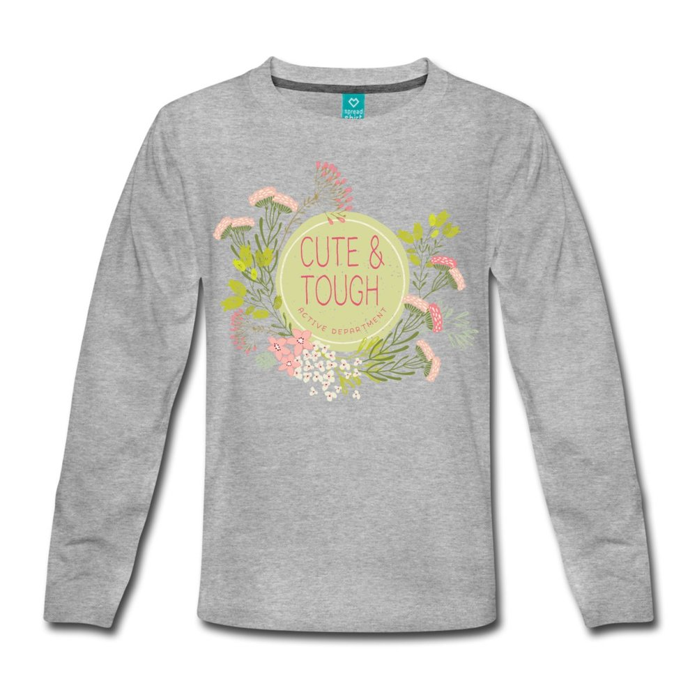 Långärmad Premium t-shirt för barn i stl. 98/104-134/140. Rättvist och hållbart producerad.