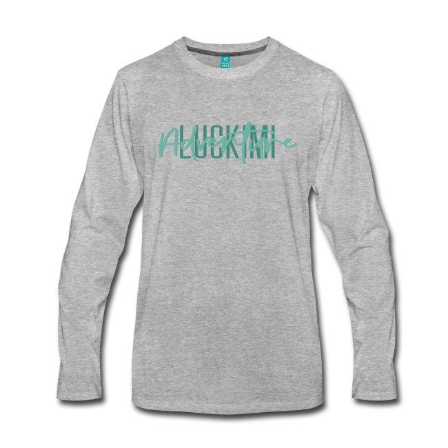 Långärmad herr t-shirt med tryck Luckimi Adventure. www.luckimi @luckimibrand