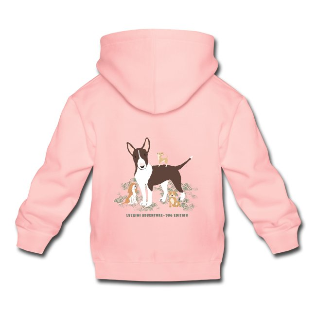 LUVTRÖJA FÖR BARN MED TRYCK Dog Edition. www.luckimi.com @luckimibrand.com