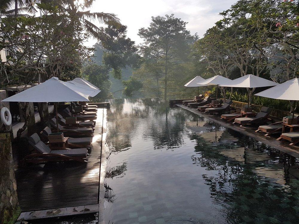Pool views, Maya Ubud Resort and Spa