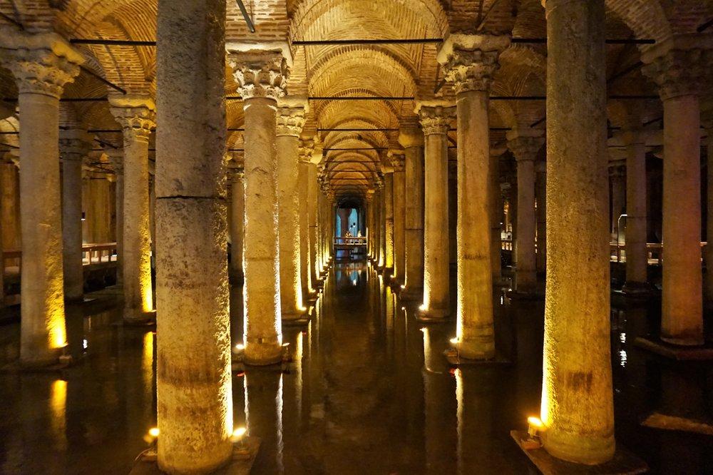 Basilica Cistern, Istanbul, 2017