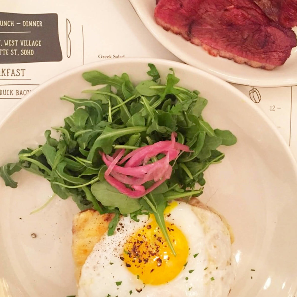 Need a spot for brunch in NYC? Pick one of my go-to brunch spots in the city! Restaurant pictured: Jack's Wife Freda