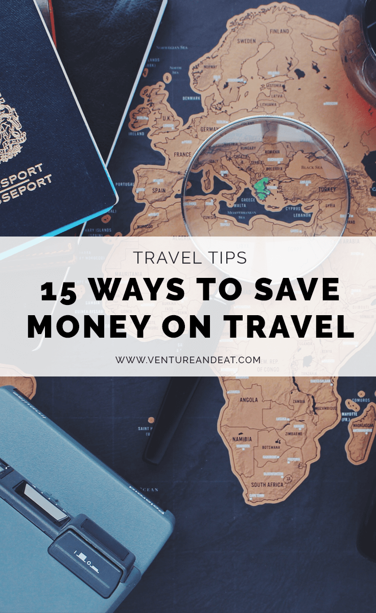 Want to learn how to save money on travel? From flights to hotels to things to do, these are 15 of the tips I use to travel on a budget!