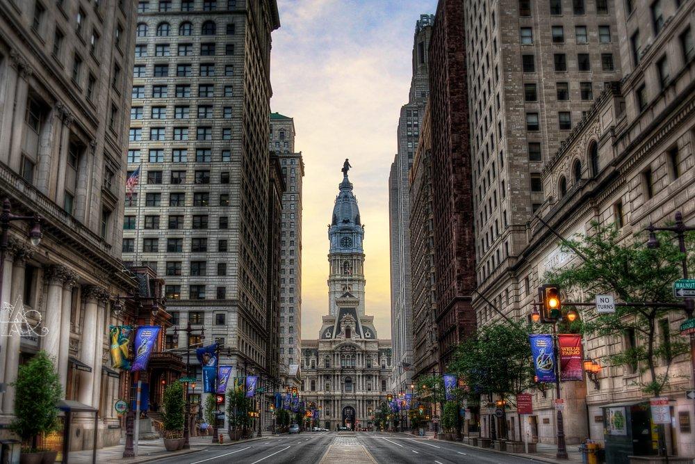 City Hall Philadelphia by Mark Garbowski