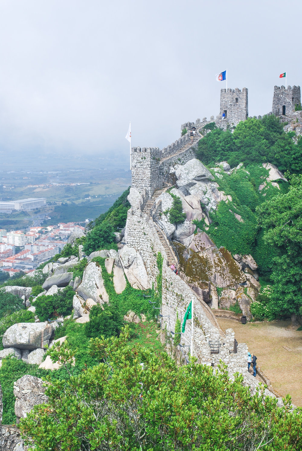 Castelo dos Mouros / Castle of the Moors — Visiting Lisbon, Portugal? A Sintra day trip is a must! Read this guide on how to get to Sintra and what to do when you're there.
