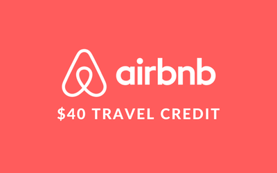$40 Airbnb Travel Credit