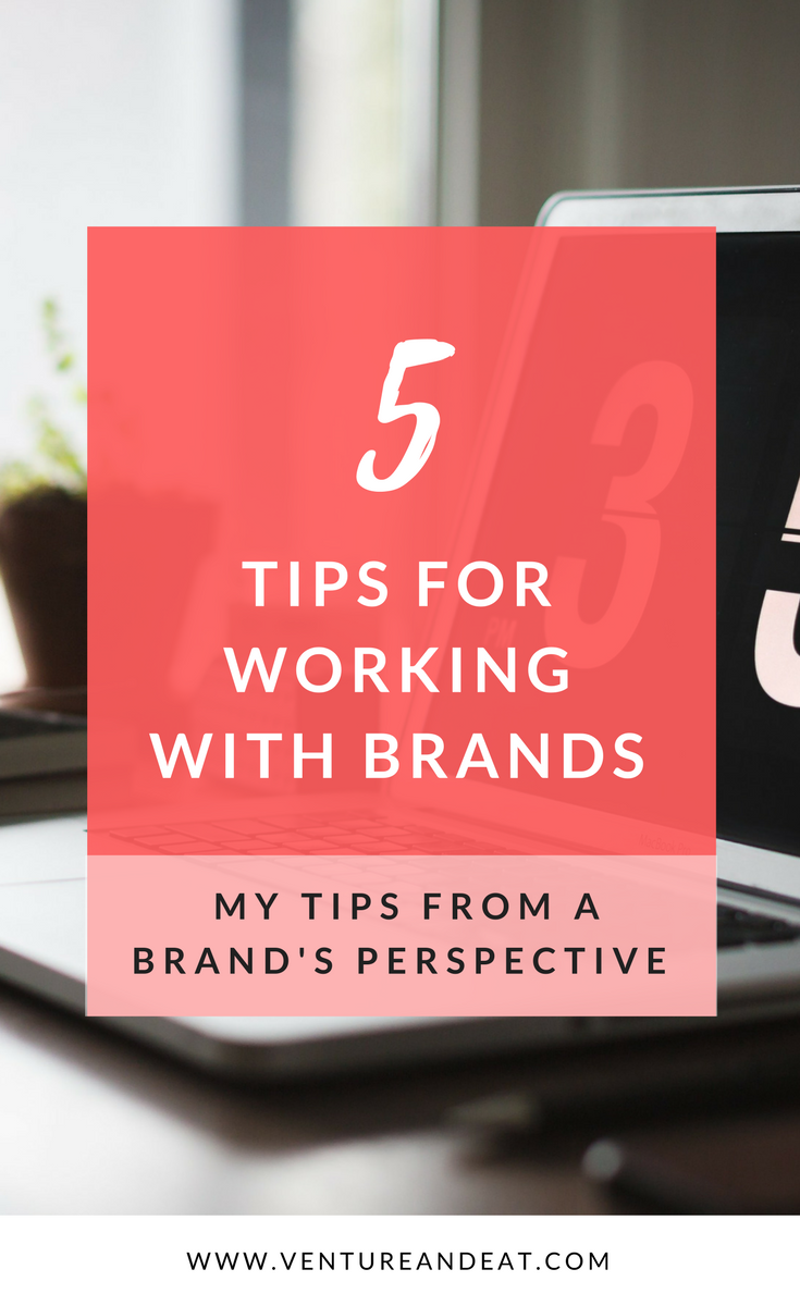 Want to work with brands? These are my firsthand tips from a brand's perspective to get you noticed for brand partnerships.