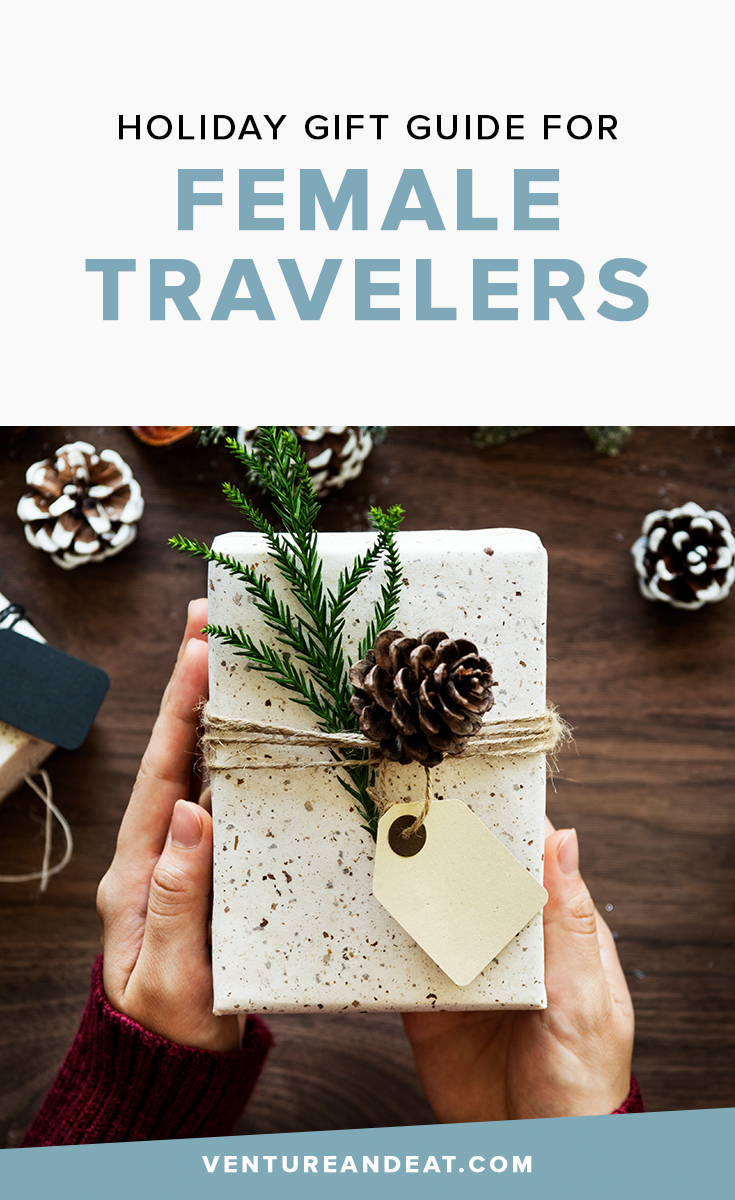Searching for the perfect gift for the female traveler in your life? These gifts are sure to wow this holiday season, whether it's for Christmas, Hanukkah or another holiday that you celebrate!