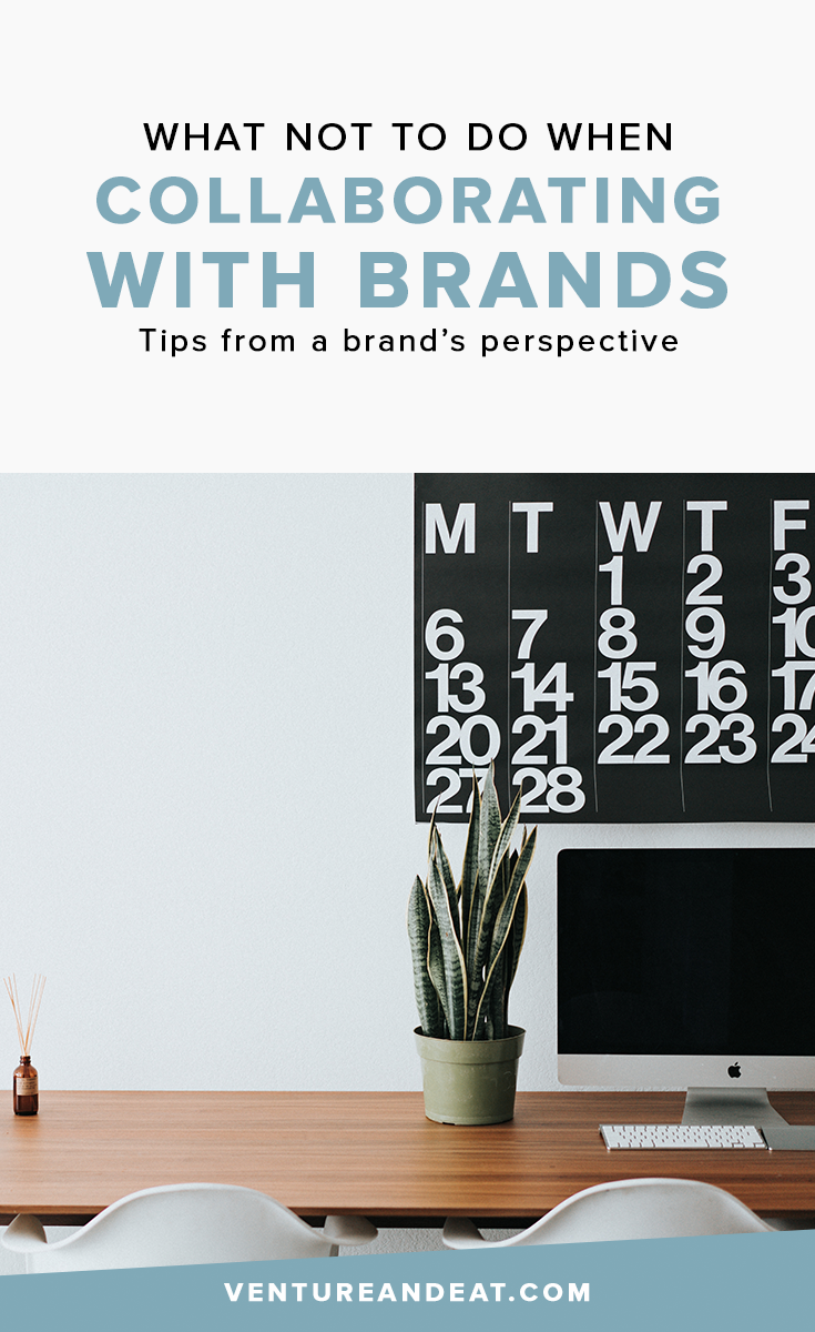 """Have you started working with brands? Here a list of """"Don'ts"""" for working with brands that will keep you getting sponsored posts!"""