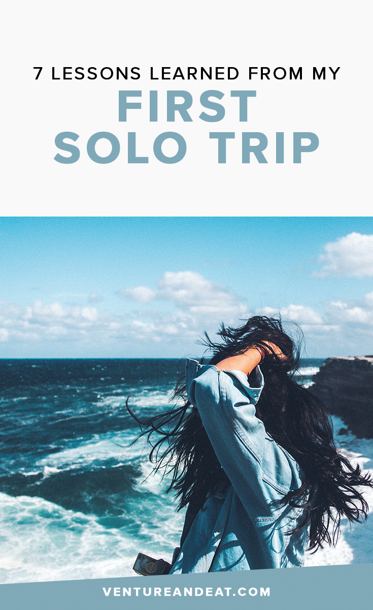 Solo #TravelTips | #Travel | Solo trips don't have be scary or daunting. I'm sharing some of the lessons I learned from my first solo trip!