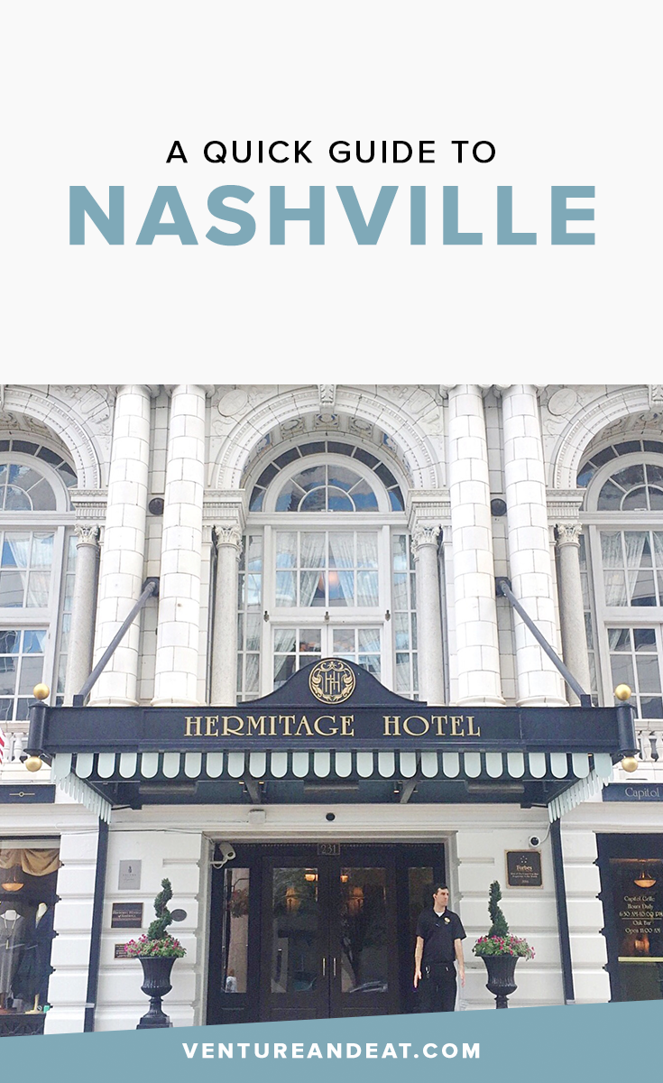 Nashville Travel Guide: Visiting Nashville? Here's a quick guide on where to stay, do, and eat in Nashville!