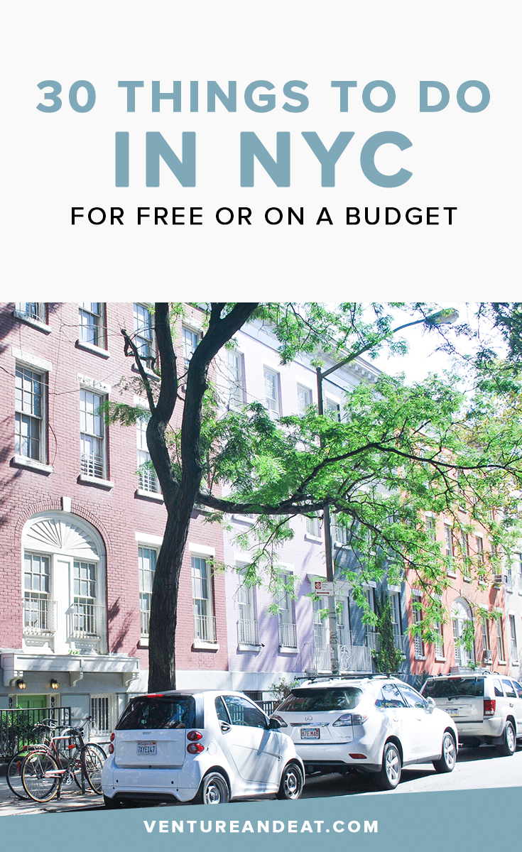 NYC is one of the most expensive cities in the world, whether you live here or are visiting. This list of free or almost free things to do is perfect for sticking to your budget, but lets you have still have fun!