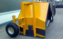 Höhenverstellbares Stütz- Transportrad (Standardausstattung)